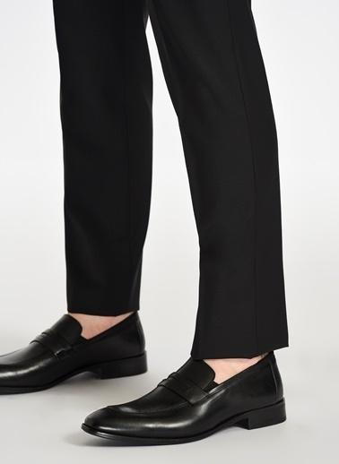 D by Divarese Deri Klasik Ayakkabı Siyah